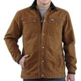 Carhartt Sandstone Multi-Pocket Jacket - Quilt Lined (For Men)