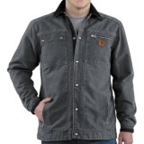 Carhartt Sandstone Multi-Pocket Jacket - Quilt Lined (For Men)