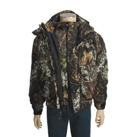 Russell Outdoors Drystalker Camo 4-in-1 Jacket - Waterproof, Insulated (For Men)