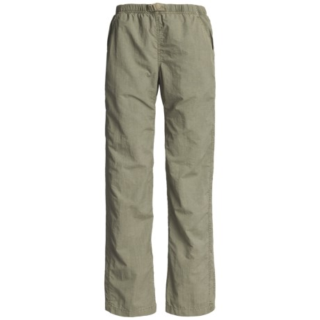 White Sierra Quick-Dry Nylon Pants - UPF 30 (For Women)