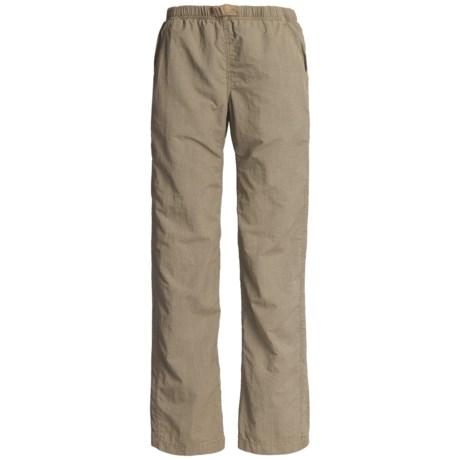 White Sierra Quick-Dry Nylon Pants - UPF 30 (For Women)