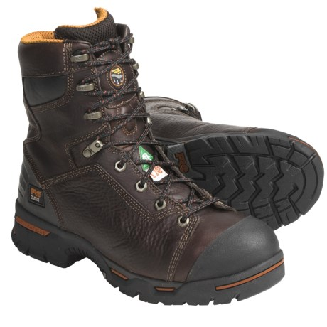 "Timberland Pro Endurance Work Boots - Steel Toe, 8"" (For Men)"