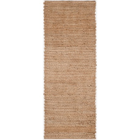 Safavieh Cape Cod Hand-Tufted Natural Fiber Floor Runner - 2x8', Jute