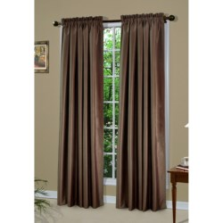 "Thermologic Shang Ri La Curtains - 84"", Pole-Top, Insulated"