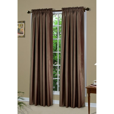 "Thermalogic Thermologic Shang Ri La Curtains - 84"", Pole-Top, Insulated"