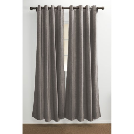 """Commonwealth Home Fashions Distinctly Home Lindsay Chenille Curtains - 104x84"""", Grommet-Top"""