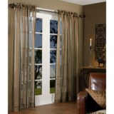 "Habitat Chenille Stripe Curtains - 100x84"", Pole-Top"
