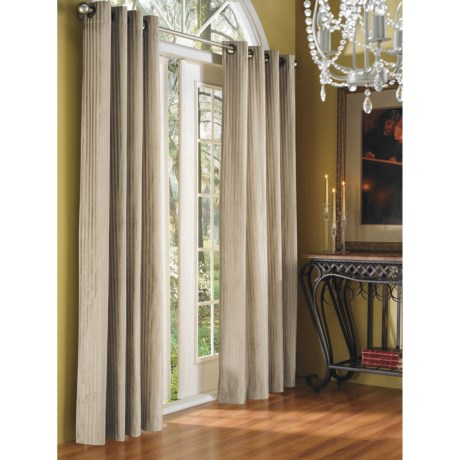 "Commonwealth Home Fashions Distinctly Home Sheffield Velour Curtains - 84"", Grommet-Top"
