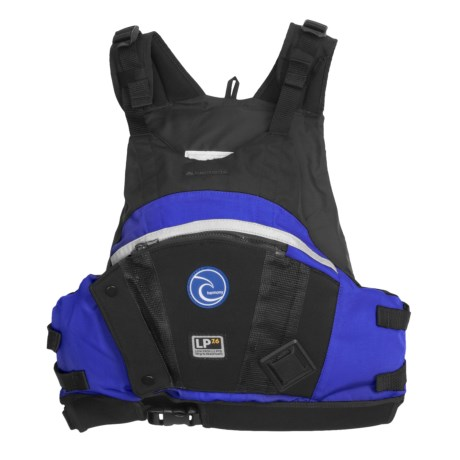 Harmony LP 7.6 Paddling PFD Life Jacket - USCG Approved, Type III (For Men and Women)