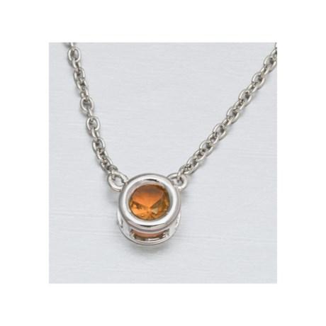 Jokara Birthstone Crystal Necklace