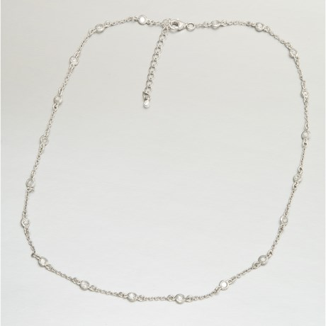 Jokara Cubic Zirconia Necklace - Diamonds by the Yard