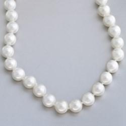 Jokara Shell Pearl Necklace - 12mm