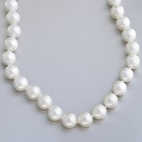 Jokara Shell Pearl Necklace - 12mm