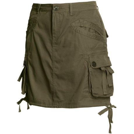prAna Ellia Cargo Skirt - Cotton Poplin (For Women)