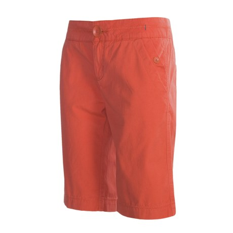 prAna Adrian Shorts - Peached Cotton Canvas (For Women)