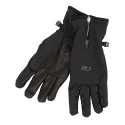 Outdoor Research Stormtracker Gloves - Windstopper® (For Men)