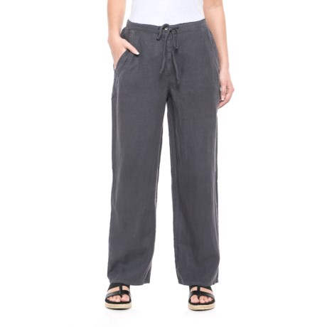 Russ Berens Linen Pants (For Women)
