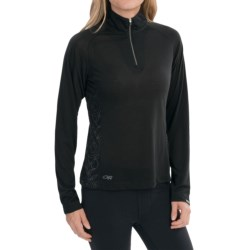 Outdoor Research Essence Shirt - Zip Neck, Long Sleeve (For Women)