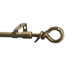 "Versailles Encore Series Knot Curtain Rod - Adjustable 48-86"""