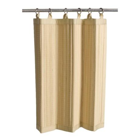 "Versailles Bamboo Panel Tier Set - 48x24"", Ring-Top"