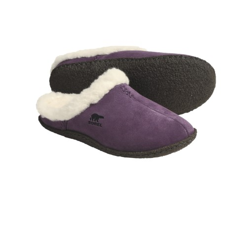 Sorel Nakiska Slides - Suede (For Women)