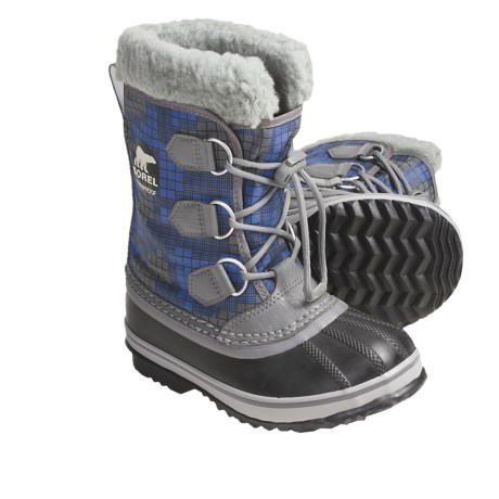 Sorel Yoot Nylon Winter Pac Boots - Waterproof (For Kids)