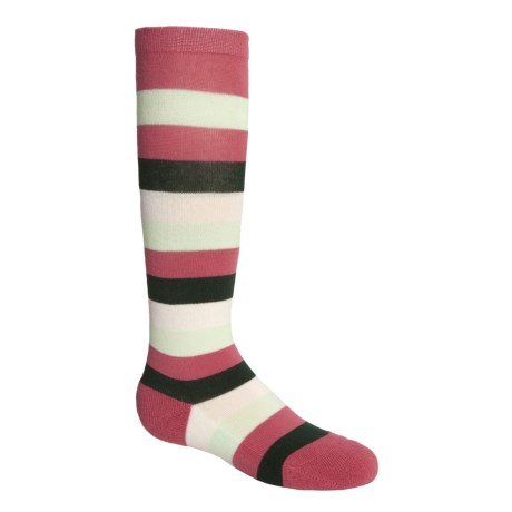 Kamik Knee-High Stripe Socks (For Girls)