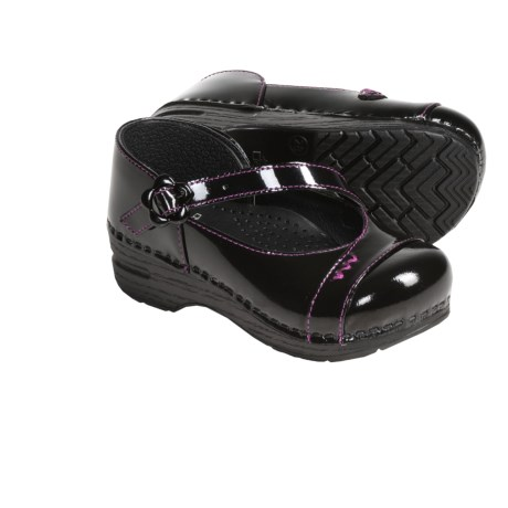 Dansko Jada Mary Jane Shoes - Patent Leather (For Girls)
