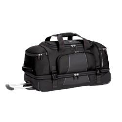 "High Sierra Elevate Wheeled Drop-Bottom Duffel Bag - 28"""