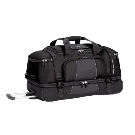 High Sierra Elevate Wheeled Drop-Bottom Duffel Bag - 28""