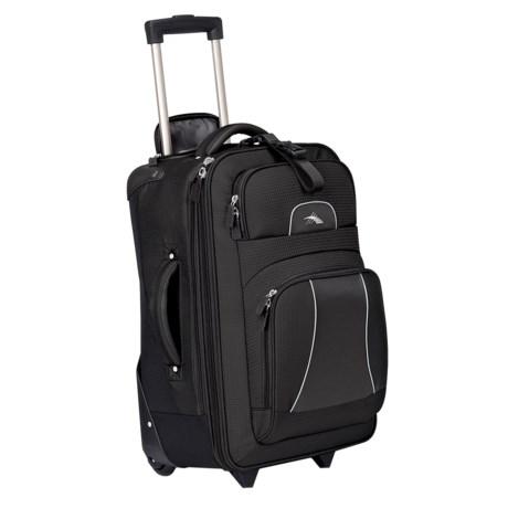 "High Sierra Elevate Wheeled Upright Suitcase - 22"""