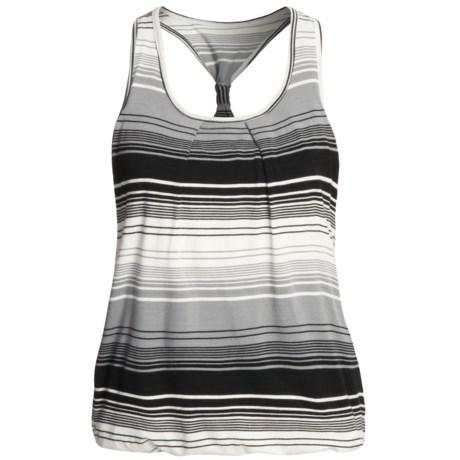 prAna Aubrey Bubble Hem Tank Top - Double-Layered Yarn-Dyed (For Women)