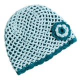prAna Anne Beanie Hat - Open Weave Crochet (For Women)