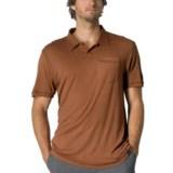 prAna Crosshatch Polo Shirt - Short Sleeve (For Men)