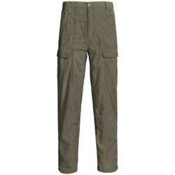 White Sierra Safari Pants - UPF 30 (For Men)