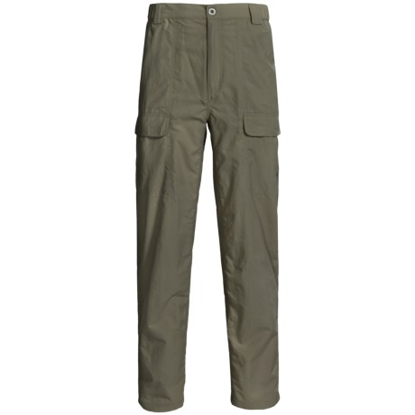 White Sierra Safari Pants - UPF 30 (For Men)