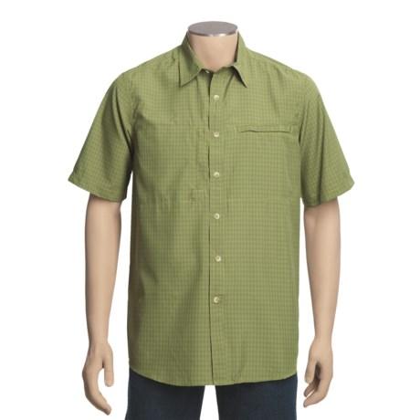 White Sierra Salt Point Shirt - UPF 30, Short Sleeve (For Men)