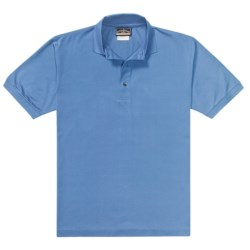 Outer Banks Pima Pique Polo Shirt - Double Mercerized, Short Sleeve (For Men)