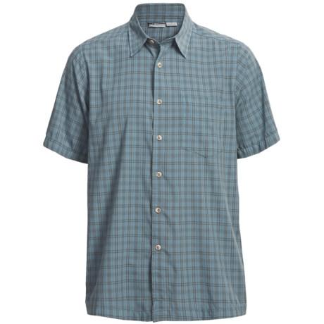 White Sierra South Hampton Plaid Shirt - Short Sleeve (For Men)