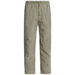 White Sierra Quick-Dry Nylon Pants - UPF 30 (For Men)