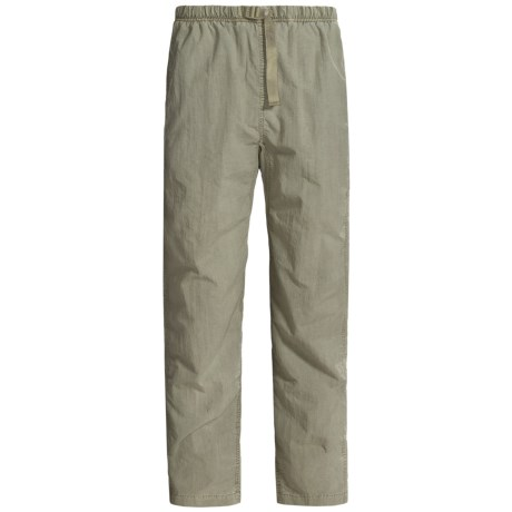 White Sierra Quick-Dry Nylon Pants - UPF 30 (For Men)