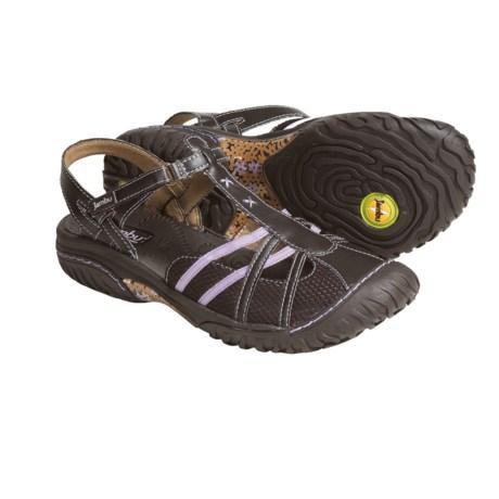 Jambu Cherry Mesh Sandals (For Women)