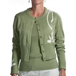 Audrey Talbott Aloe Crop Cardigan Sweater (For Women)