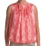 Audrey Talbott Henna Silk Shirt - Sleeveless (For Women)