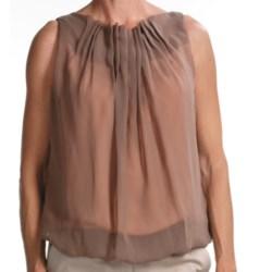 Audrey Talbott Henna Crepe Shirt - Sleeveless (For Women)