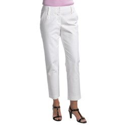 Audrey Talbott Hapri Fly-Front Ankle Pants - Stretch Cotton (For Women)