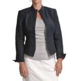 Audrey Talbott Skylar Denim Zip Jacket - Stretch Cotton (For Women)