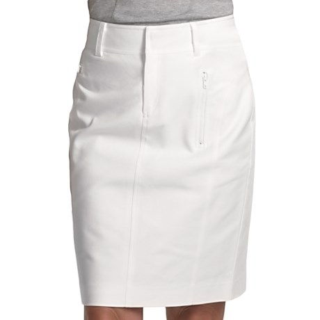 Audrey Talbott Houlihan Trouser Skirt - Stretch Cotton (For Women)