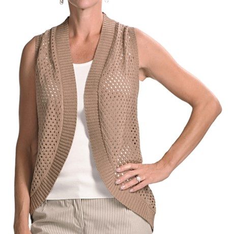 Audrey Talbott Zoe Racerback Vest - Mercerized Cotton (For Women)