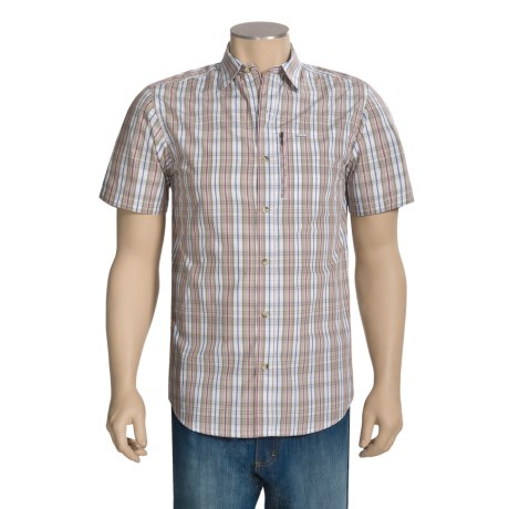 Columbia Sportswear Utilizer Zip Shirt - Short Sleeve (For Big and Tall Men)